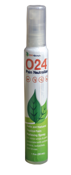 O24™ Pain Neutralizer 1oz Spray Bottle